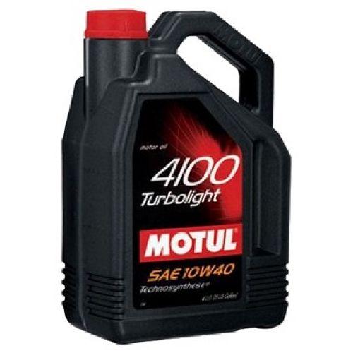 Motul 4100 Turbolight SAE 10W40(4л)