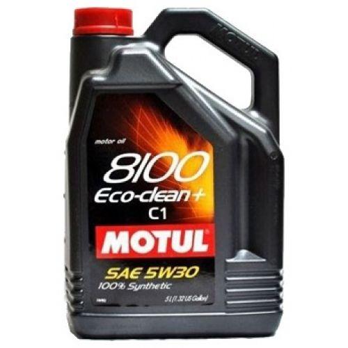 Motul 8100 Eco-clean+ 5W30 (5л)