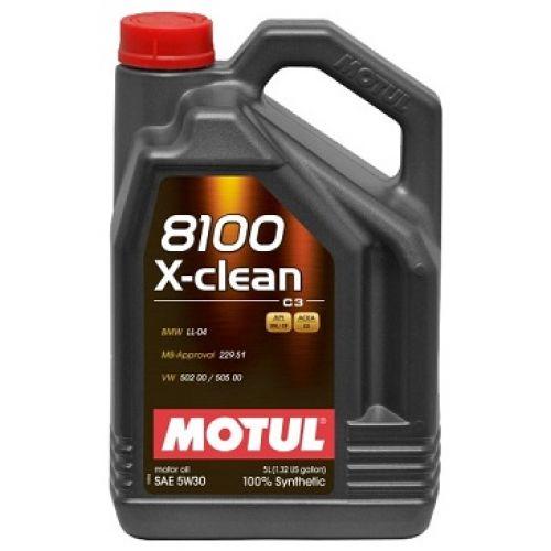 Motul 8100 X-clean 5W30 (5л)
