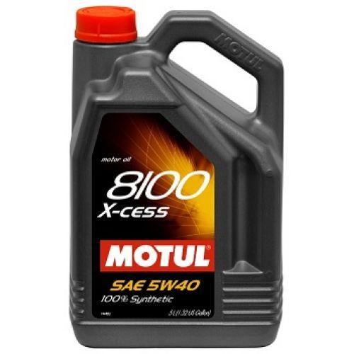 Motul 8100 X-cess SAE 5W40 (4л)