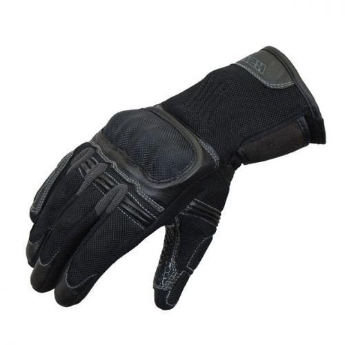 [RUSH] Перчатки EASY текстиль, цвет Черный, Размер 2XL