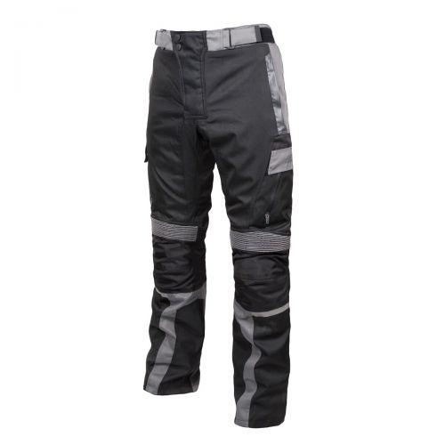 [RUSH] Мотоштаны DISCOVERY PANT текстиль, цвет Черный/Серый, Размер 2XL