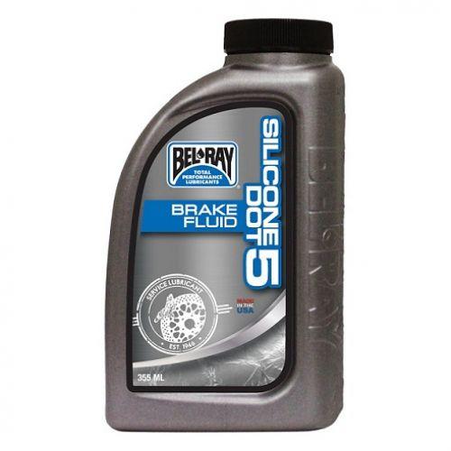 Тормозная жидкость Silicone DOT 5 Brake Fluid 355мл