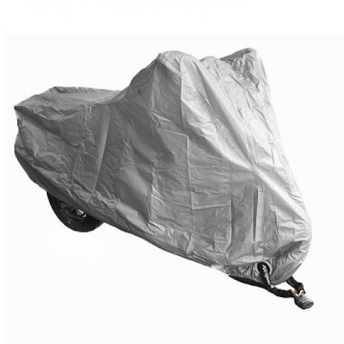 Чехол для мотоцикла 13401 плотный 246x104x127 см (XL), цвет Серый