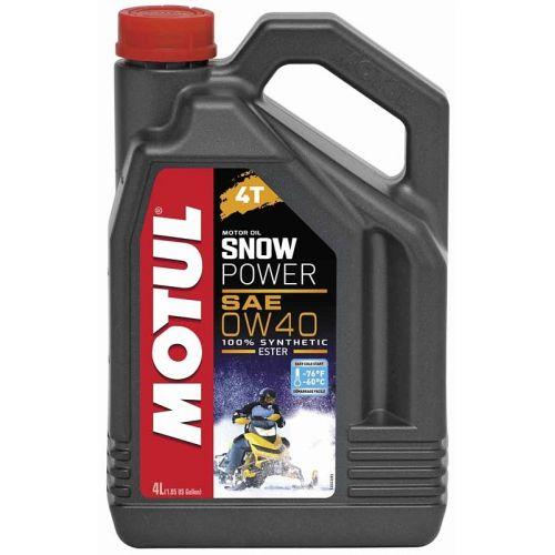 MOTUL SnowPower 4T SAE 0W40 (4л)