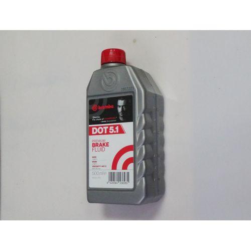 Тормозная жидкость Brembo DOT 5.1 0.5 л.
