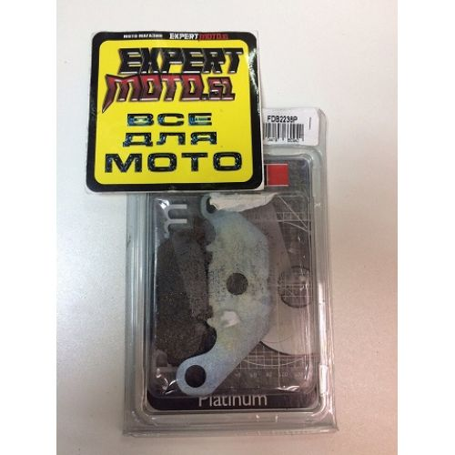 Тормозные колодки для мотоцикла FDB 2238P