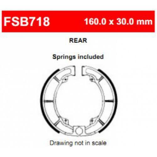 Тормозные колодки барабанные Ferodo FSB718