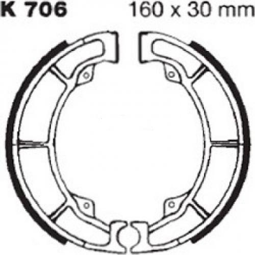 Тормозные колодки барабанные Ferodo FSB719