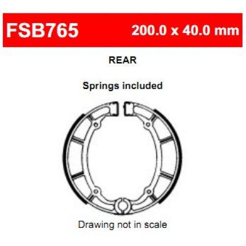 Тормозные колодки барабанные Ferodo FSB765