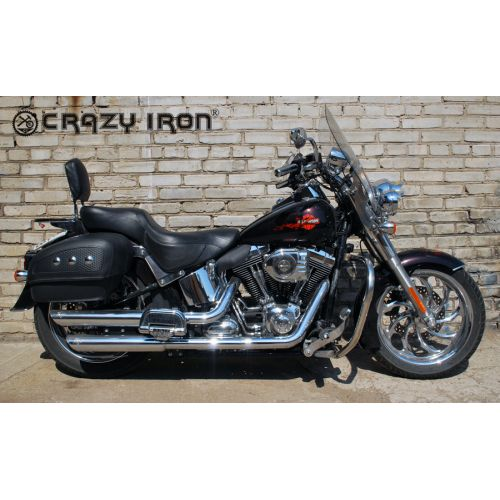 CRAZY IRON ДУГИ HARLEY DAVIDSON SOFTAIL HERITAGE, DELUXE, FATBOY ОТ 2000-Г.В.