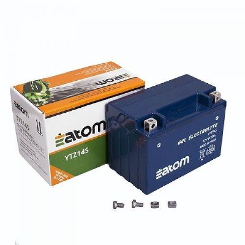 Аккумулятор ATOM мото YTZ14S (GEL)