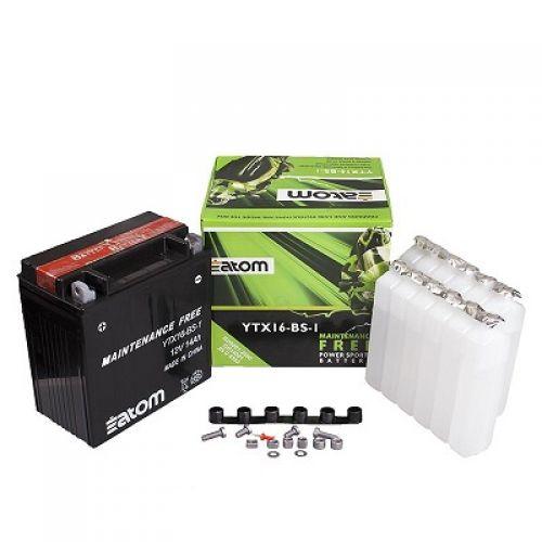 ATOM  Аккумулятор YTX16-BS-1 MF