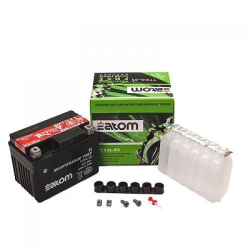 ATOM аккумулятор YTX4L-BS MF