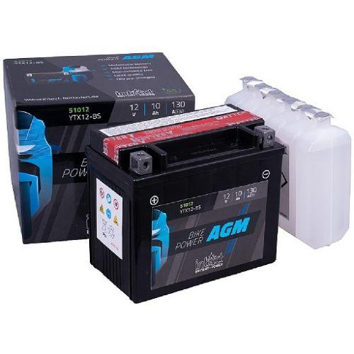 Аккумулятор intAct AGM YT9B-BS