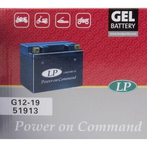 LANDPORT Аккумулятор GEL герметизированный 51913