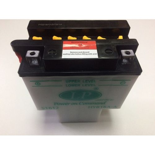 Аккумулятор сухозаряженный cвинцово-кислотный DRY HYB16A-AB