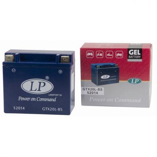 LANDPORT Аккумулятор GEL герметизированный YTX20L-BS