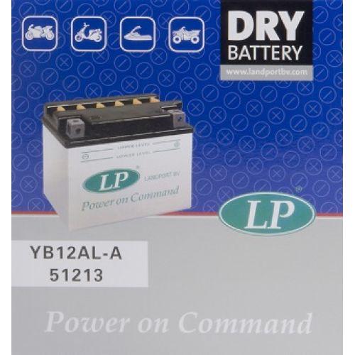 Аккумулятор сухозаряженый DRY YB12AL-A