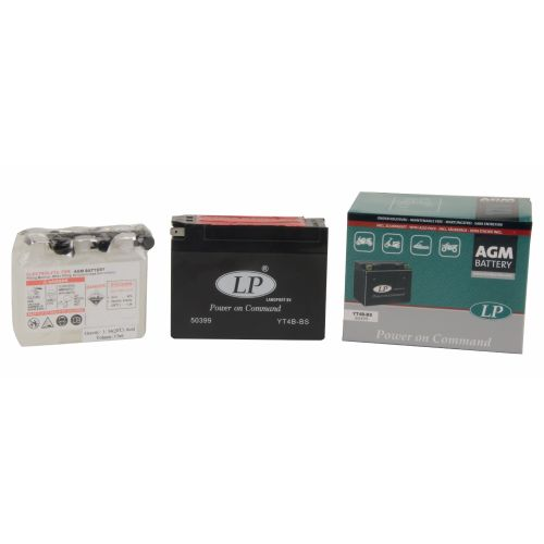 Аккумулятор AGM YT4B-BS