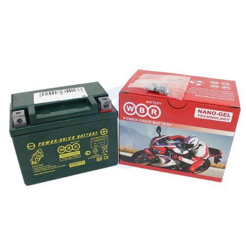 WBR Аккумулятор  MTG 12-4 (YTX4L-BS GEL, YTZ5S)