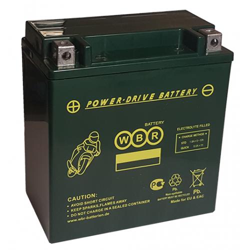 WBR Аккумулятор GEL MTG12-10-A (YTZ10S GEL)