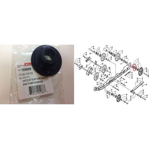 Кольцо катка (аналог 1604-774)