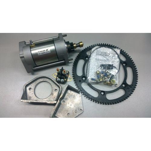 Комплект стартера электрического с венцом, соленоидом и с крепежом для с/х Arctic Cat Bearcat 570XT 08-17