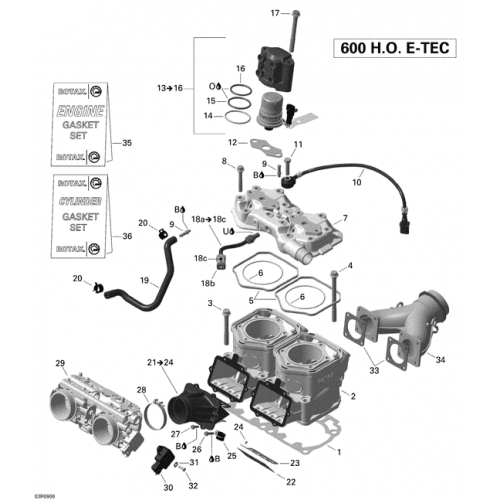 Прокладка JOINT GASKET 420430930
