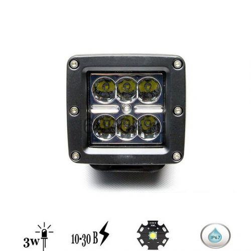 Светодиодная фара FRK6-18 ватт (Дальний)
