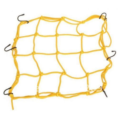 Сетка для крепления груза 38х38 см (желтая) EMGO. 6 крючков