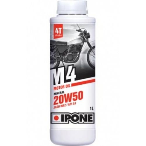 IPONE масло моторное M4 20W50 1L