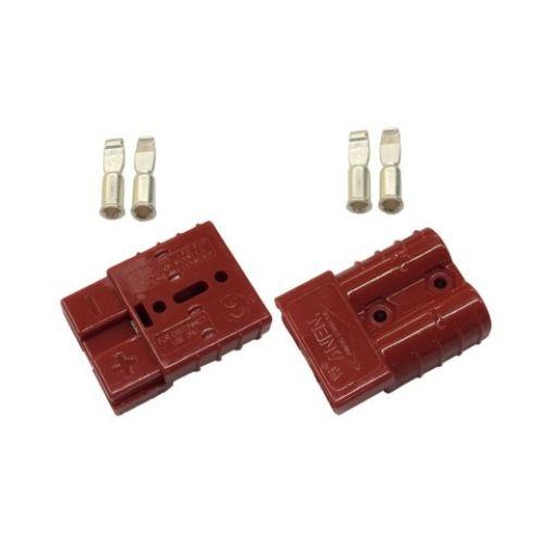 Разъем электрический T-MAX 50А Красный