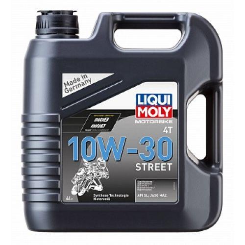 НС-синтетическое моторное масло Motorbike 4T Street 10W30 4л