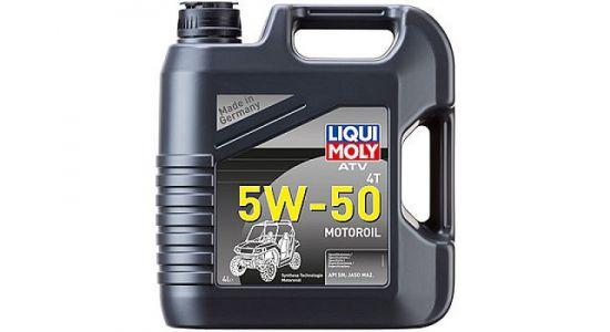 НС-синтетическое моторное масло ATV 4T Motoroil 5W-50 4л