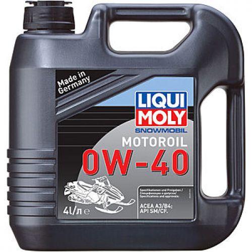 Масло LIQUI MOLY Snowmobil Motoroil 0W-40 4 литра (синтетика)