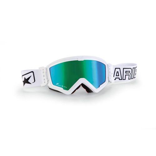 ARIETE Очки для шлема MUDMAX White/Green Lens