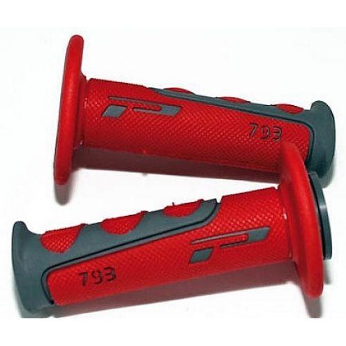 Ручка PROGRIP 793 cross красные, 22мм закрытые