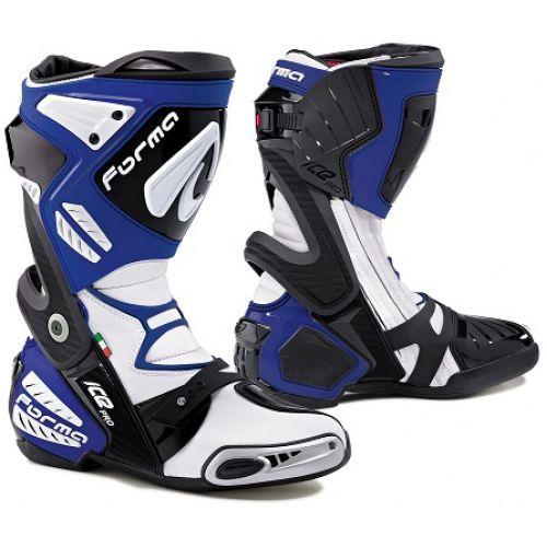Ботинки ICE PRO синие(45)