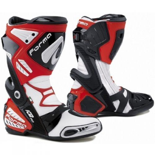Ботинки ICE PRO красные Размер:44