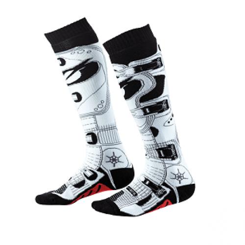 Носки для мотокросса Pro Mx Rdx (O'NEAL, арт.0356-758) черный белый
