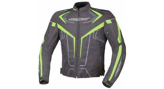 Всесезонная текстильная куртка Colomo флуо желтая, L