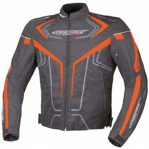 Всесезонная текстильная куртка Colomo оранжевая (M)