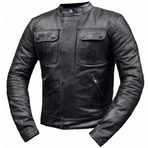 Кожаная куртка Gravity (XL)