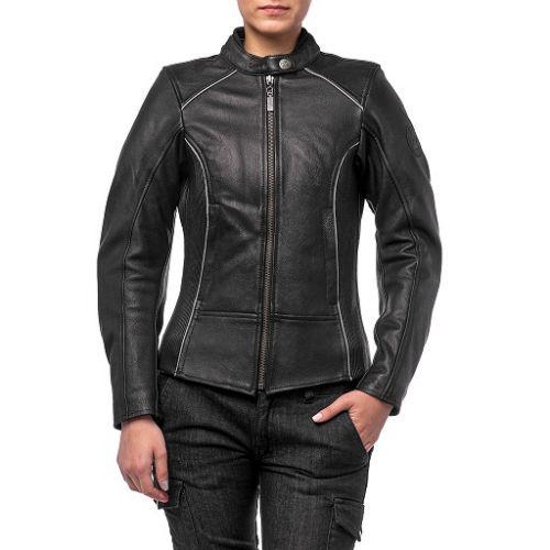 Кожаная женская куртка Mira (Размер XL)