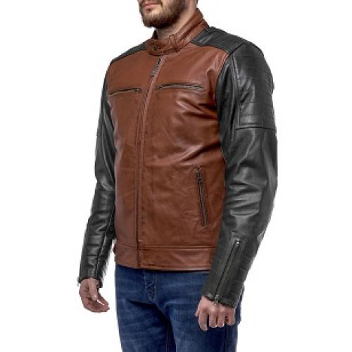 Куртка кожаная  MOTEQ Bravo L