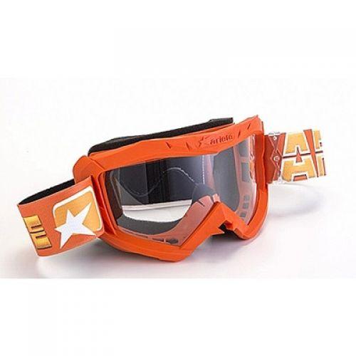 Кроссовая маска 07 LINE - AAA оранжевая