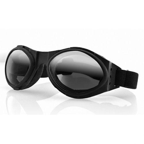 Очки Bugeye чёрные с зеркальными линзами