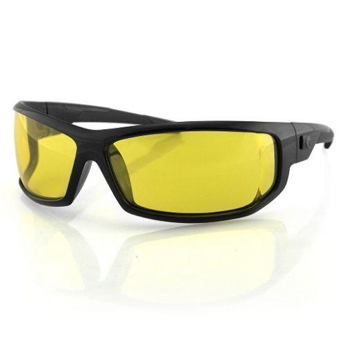 Очки AXL черные с желтыми линзами