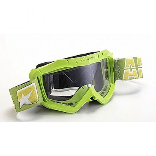 Кроссовая маска 07 LINE - AAA зеленая